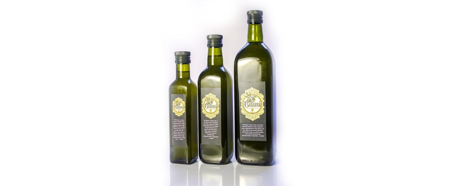 extra virgin olive oil Bilini