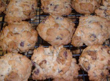 kaki cookies s maslinovim uljem
