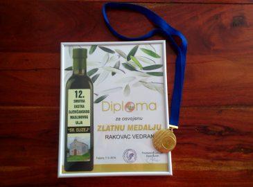 Zlatna medalja za Bilini Agro udruga Fazana
