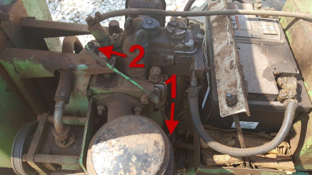 odzračivanje motora