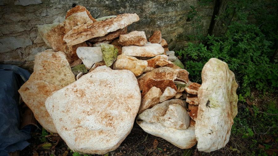 kamenje iz maslinika