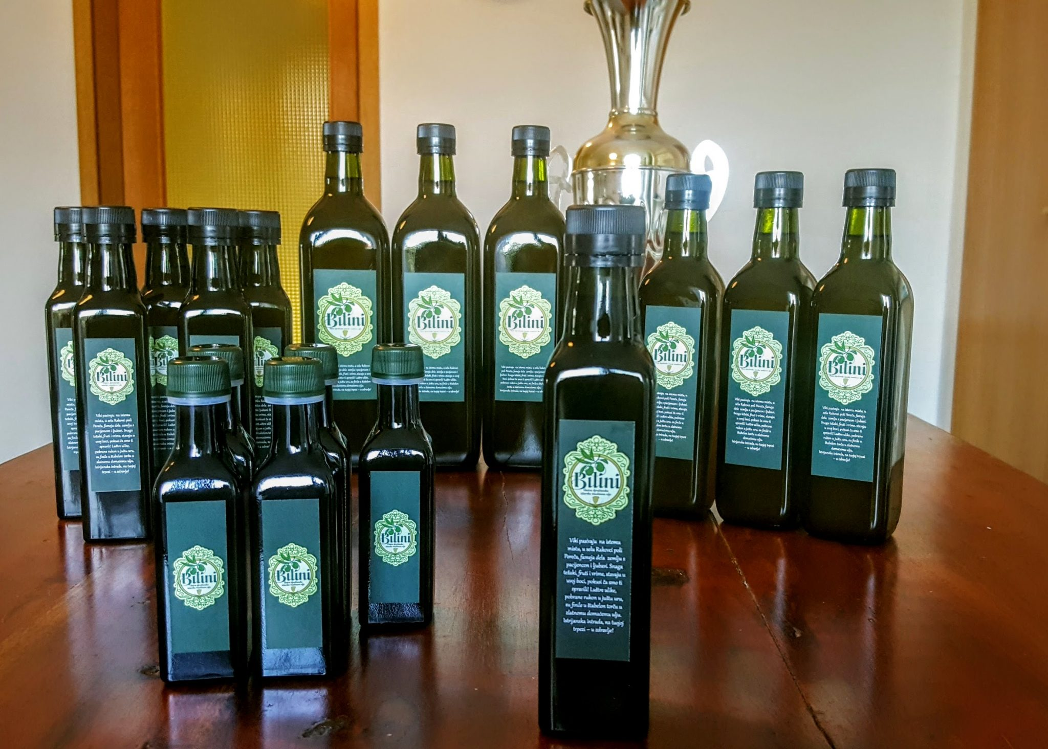 Croatian extra virgin olive oil