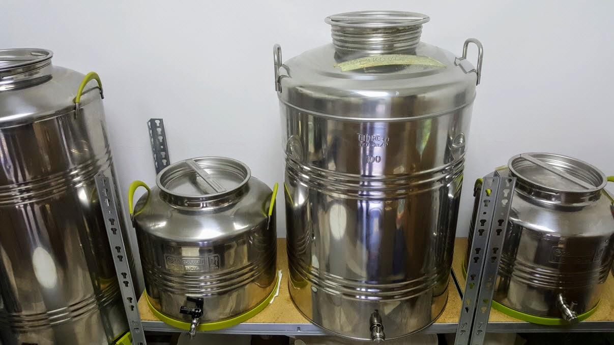 inox bačve za maslinovo ulje