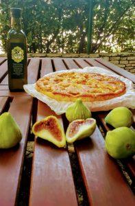 Figov kolač z olivnim oljem
