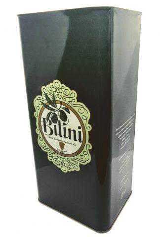 Olio extra vergine di oliva in latta