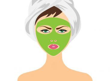 maska za lice s maslinovim uljem