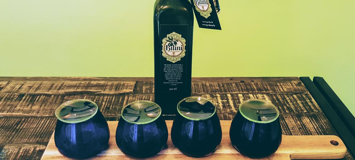 Olio di oliva extravergine Bilini