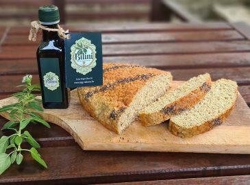 Proteinski kruh s maslinovim uljem